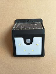 Wholesale Brite Led Lights - Ever Brite LED Solar Power Light Wireless Sensor Body Induction Lamp Home Bright with retail package