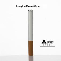 máquina de espetáculos Desconto Digger W / O Faísca 80mm 55mm Forma de Cigarro Tubo Filtro de Cor de Erva Tabaco Limpo Um Hitter Bat Tubos De Fumo Portátil DHL 120