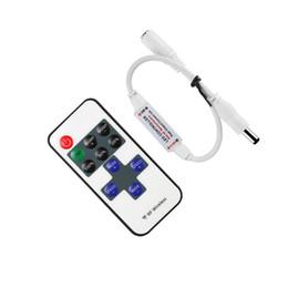 Fernbedienung dc-schalter online-LED Mini Dimmable Control Dimmer Licht Controller Schalter Dimmer RF Wireless Fernbedienung DC 5 ~ 24V 12A für LED-Streifen Licht