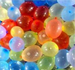 Wholesale Fill Water Balloons - Frozen Magic Bunch Water Balloons Amazing children Water Bunch Balloons Water bomb Fill 100 Per Minutes Summer toys