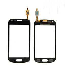 """Wholesale S7562 Galaxy S Duos Touch - Black & White 4.0 """"For Samsung Galaxy S Duos S7560 S7562 Touch Panel Panel Sensor Lens Glass"""