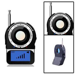 Wholesale Spy Lens Finder - CC-309 Anti-Spy Full Band Signal Bug RF Detector Camera Laser Lens GSM Finder Portable Wireless Detector Anti Eavesdrop Monitor