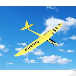 Wholesale Toy Glider Planes Kids - RCRCM 1530m Wingspan RC Glider E-Sunbird Plane Model Toy Plane Made of Fiberglass&Carbon ,It Can be Customized