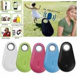 Wholesale Box Dvd China - Anti-Lost Theft Device Alarm Bluetooth Remote GPS Tracker Child Pet Bag Wallet Key Finder Phone Box