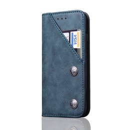Wholesale Note Flip Phone - CaseMe Leather Wallet Flip Stand Slot Phone Cases Cover For iphone 8 7 plus 6s plus Samsung note 8 s8 plus with card slot kickstand gift