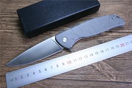 faca de aço 7cr13mov Desconto F95 Tático faca dobrável 7cr13mov lâmina de aço alça ferramentas EDC TOP qualidade rolamento faca de bolso faca de acampamento, frete grátis knif Automático