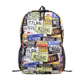 Wholesale Animal School Bag - Floral Cartoon Animal Casual Backpack Sport Outdoor Packs Women Men Unisex Canvas Multicolor Student School Bag High Capacity VK5206-19