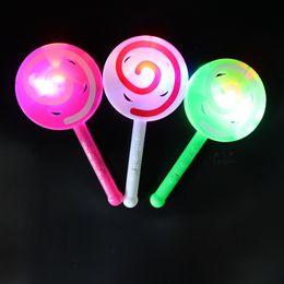 Linterna led stick online-2017 nuevo LED flash stick, linterna, campana de mano, paleta luminosa, barra fluorescente, juguetes de los niños al por mayor