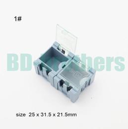 Original 1 # Komponente Aufbewahrungsbox IC Komponenten Boxen SMT SMD Wen tai Boxen Kombination Coloful oder Schwarz ESD antistatische Fall 3000pcs / lot von Fabrikanten