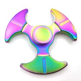 Canada 100pcs Haute Qualité Metal Spinners Coloré Axes EDC Main Métal Spinner Pour Autisme et Rotation TDAH 5 Munites Anti Stress Toys Offre