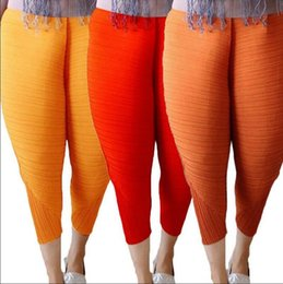 Wholesale Girls Baggy Pants - Fried Chicken Pants Women Haroon Haren Pants Baggy Pants Hip-Hop Capris Elastic Loose Trousers 3 Styles OOA3338