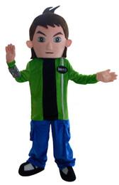 Wholesale Ben Costume - ben 10 mascot costume cartoon character cosply custom anime carnival costume fancy dress 3456