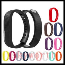 Bandas de reloj flex online-Fitbit Flex 2 Muñeca Wearables Silicona TPU / TPE Correas Banda para Fitbit Flex Watch Clásico Reemplazo Pulsera Correas Band (No Tracker)