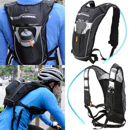 Wholesale Bicycle Bag Backpack - ROSWHEEL Bike Bicycle Backpack Multifunction Bike Cycling 4L Backpack Outdoor Sports Water Bag W Hydration