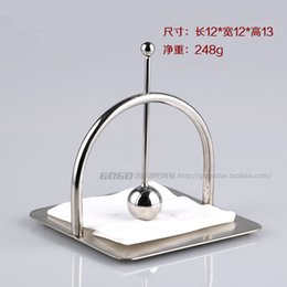 Wholesale Paper Towel Box Stainless - Wholesale-The new high-grade stainless steel paper towel holder napkin holder square mesa KTV bar towel rack tissue boxes hotel
