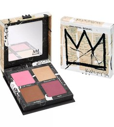 Wholesale Branded Blush - Brand Jean Michel Basquiat Gallery Blush Palette Limited Edition Bronzer Highlight Ltd Ed NIB Tenant Gold Griot Palette from mideal