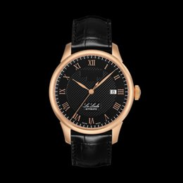 Wholesale Fashion Model Auto - Promotion T41 7 Model watch T0064071105300 Sapphire Glass Watch Automatic mechanical watches Mens luxury brand fashion watch Natural Leather