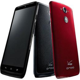 Wholesale Verizon Wholesalers - Refurbished Original Motorola MOTO DROID Turbo XT1254 ( Verizon ) 5.2 inch Quad Core 3GB RAM 32 64GB ROM 21MP 4G LTE Mobile Phone DHL 5pcs