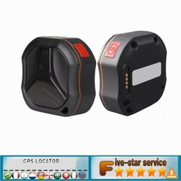 Wholesale Real Time Gps Systems - Waterproof Car Pet 3G GSM GPS Tracker Locator For Vehicle Dog Cat Real Time WCDMA AGPS LBS SOS Geo-Fence Alarm Tracking TK109