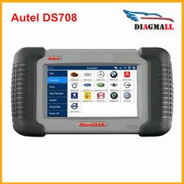 Wholesale Autel Ds - 2016 100% Original Autel MAXIDAS DS708 Scanner Update Online AUTEL DS 708 Multi-Language DHL Free Shipping