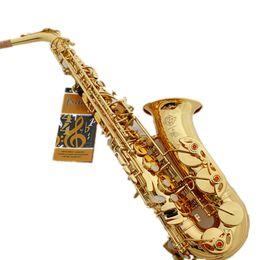 Wholesale Alto Sax - Wholesale-Brand Professional E Flat Sax Alto Saxophone France Henri Selmer Alto Saxophone 802 Saxfone E Flat Musical Instruments