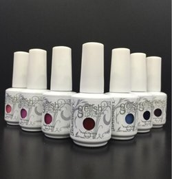 Wholesale Harmony Gelish Soak Off - Top Quality gelish Soak Off Nail Gel Polish For Nail Art Gel Lacquer Led uv Harmony Gelish Base Coat Foundation & Top coat
