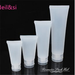 Wholesale Cosmetic Bottles Plastic 15ml - Wholesale- Retail 15ml Plastic Empty Cosmetic Bottles Facial Cleanser Hand Cream Packaging Container Hosepipe Tubes Bottles