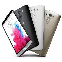 Wholesale Smart Phone 13mp 4g - Refurbished Original LG G3 D850 D855 4G LTE 5.5 inch Quad Core 2 3GB RAM 16 32GB ROM 13MP Unlocked Android Smart Phone Post 1pcs