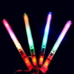 2019 luzes de campismo Multi Colorido 7 Modos LEVOU Piscando Luz Da Noite Da Lâmpada Glow Wand Varas + cinta de Aniversário Festa de Natal festival Camp F2017105 luzes de campismo barato