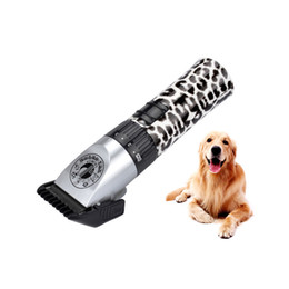 Wholesale Cut Hair Machine Dogs - Rechargeable Electric Hair Clipper Professional Hair Trimmer Beard Shaver Pet Dog Trimmer ZP-298A Hair Cutting Machine