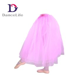 Wholesale Ballet For Sale - Free shipping Adult performance half ballet tutu A2330 white ballet tutu skirt for sale girls tutu skirt