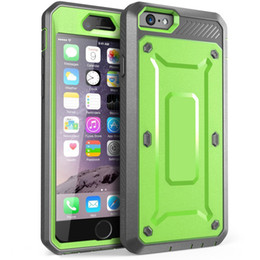 Wholesale Iphone Cases Holster - For iPhone 7 6S Plus 5SE Full-body Rugged Holster Case with Built-in Screen Protector Durable Tough Armor Cover for Samsung Galaxy S6 S7