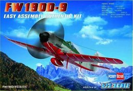 Wholesale Model Airplane Scales - Wholesale- 1 72 scale hobby Static aircraft model toy German FW-190D-9 fighter assembling airplane models best gift for kid