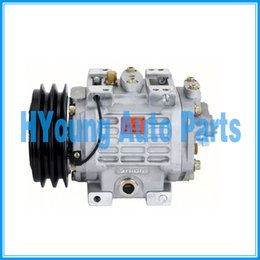 Wholesale Air Condition Auto - Top quality Auto air conditioning a c ac Compressor for unicla ux330 2PK 12V  24V