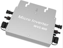 Wholesale Solar Grid Tied Inverter - 600W IP65 Waterproof Solar Grid Tie Inverter DC to AC Grid Power micro Inverter
