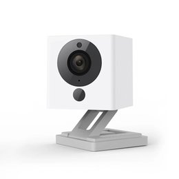 Wholesale Ip Camera Zooms - Wholesale- Original Xiaomi Xiaofang 110 Degree F2.0 8X 1080P Digital Zoom Smart Camera IP WIFI Wireless Camaras Cam Night Vision