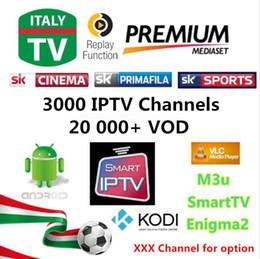 Wholesale Best Turkeys - Best Super Italy IPTV, 3000+ LIVE Channeles, 20K+VOD Europe UK Germany EX-YU Albanian, USA, Canada Turkey, French Arabic IPTV
