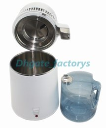 Wholesale Filtration Filters - NEW automatic household dental water distiller pure water distilled water extraction of essential oil 4Liters
