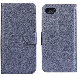 Wholesale Iphone Case Shimmering - Bling Glitter Shining Shimmering Powder Leather Wallet Folio Case for iPhone 6 7 7G plus samsung A5 A3 A7 2016 Holder Stand