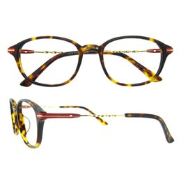 Wholesale Full Spiral - Oval colorful never fade frame three-dimensional spiral shape metal decoration design men women eyeglasses frame