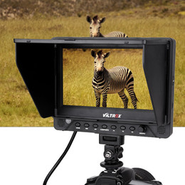 "Wholesale Dslr Monitors - VILTROX DC-70EX 7"" 1024x600 HD Clip-on HDMI SDI AV Input Output Camera Video LCD Monitor Display for DSLR camera ,with HDMI, SDI YPbPr Input"