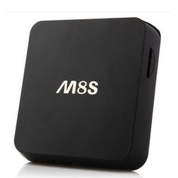 8-гигабитный медиаплеер Скидка Коробка M8S преимущества Android-ТВ коробка Amlogic S812 четырехъядерных процессоров медиа-плеер 2 ГБ 8 ГБ Поддержка двухдиапазонный беспроводной Google-плеер смарт IPTV OTH113