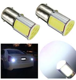 Wholesale Automotive Led 1156 - 1156 1157 BA15S Triangle Shape Car Brake Backup Light Bulb High Power COB LED Automotive Tail Lamp Turn Signal Rear Light Car Bulb Lamp