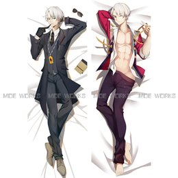 Wholesale Anime Cases - Wholesale- YURI!!! on ICE Victor Nikiforov Michele Yuri Katsuki Yuri Plisetsky anime dakimakura body pillow case cool male