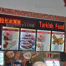 Wholesale A1 Boards - A1 Ultra Slim Curved Aluminum Snap Frame LED Illuminated Menu Boards,Restaurant Indoor Wall Mounted LED Menu Light Box