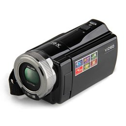 "Wholesale Cheap Video Camera Light - Wholesale-2.7"" TFT LCD 16MP Digital Camera HD 720P Photo Video Camcorder 16X Zoom Anti-shake DV LED Fill Light Non-touch Cheap Camera"