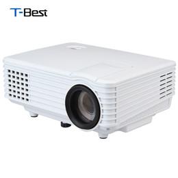 Excelvan mini projecteur led en Ligne-Gros-Excelvan RD805 Mini LED Projecteur HDMI Home Cinéma Beamer Multimédia Portable Projecteur Support 1080P Vidéo Projecteur EU Plug