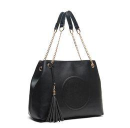 Wholesale Large Ladies Tote Bags - Brand Casual Tote women's tassel handbag Europe large capacity fashion single shoulder bag Luxury decoration messenger bag 2017 hot selling