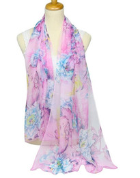 Wholesale Wholesale Luxury Scarves - New brand scarf women's long shawl autumn and winter chiffon luxury scarf wraps designer scarf scarfs for women 074