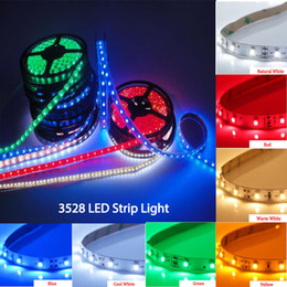 Wholesale Double White Led Strip - Best SMD 3528 Led Strip Light CE RoHS DC12V Double-Sided Boards Colorful Led Lighting for Decorations